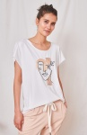 T-shirt Picasso BS Ekri/ Nude