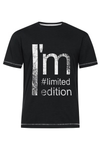 T-shirt Męski Limited Edition BS Czarny