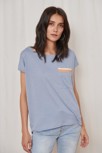 T-shirt Sonia BS Jeans/Orange