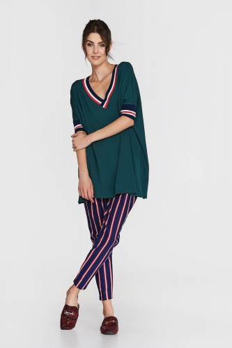 Sweter Aziz Plus Size Duck Green