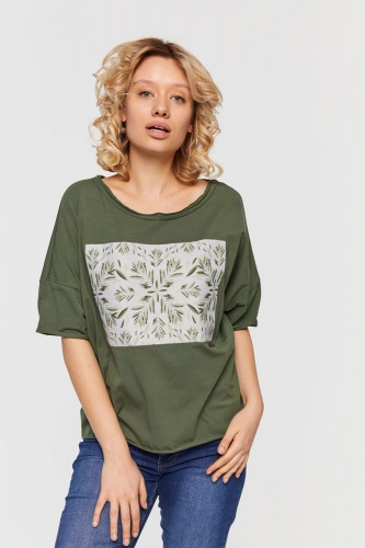 T-shirt Olives BS Khaki