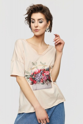 T-shirt Sukulent 2 BS Nude