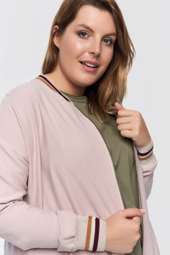 Bluza Nasa Plus Size P.Róż