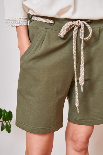 Szorty Dres. Lily BS Army Green