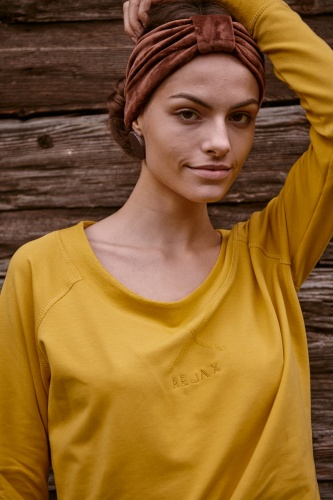 Bluza Relax BS Misty Yellow