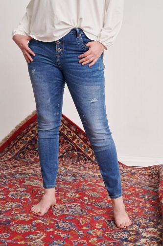 Jeansy H18018 Plus Size Jeans