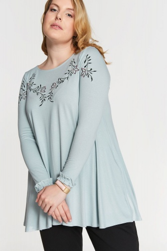 Tunika Avril Plus Size Mint
